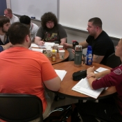 Entrepreneurial Finance Team Collaborates on Real Time Project
