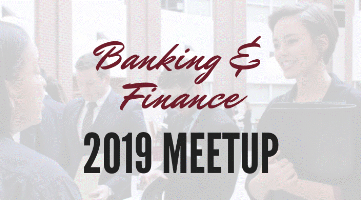 Banking and Finance Meetup 2019