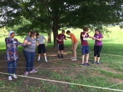 Innovative Entrepreneurial Class Engages in Team Building Experience